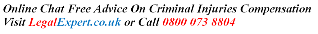 Criminal Injuries CICA Free Advice On Payouts